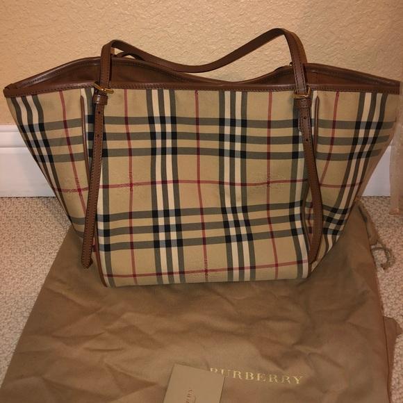 0144d43a0eef Burberry Handbags - Burberry horseferry check small Canterbury bag